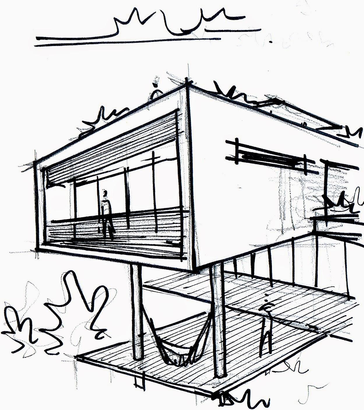 Blog da arquiteta quero prestar vestibular para for Croquis de casas