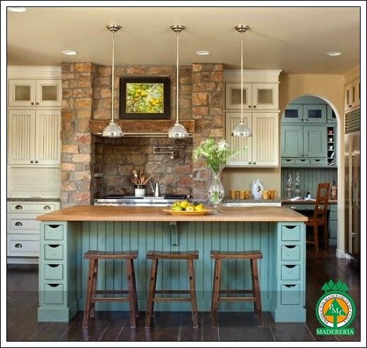 Productos maderables de cuale ideas de remodelaci n para Barra cocina madera
