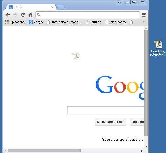 Ver archivo PDF con el navegador Chrome