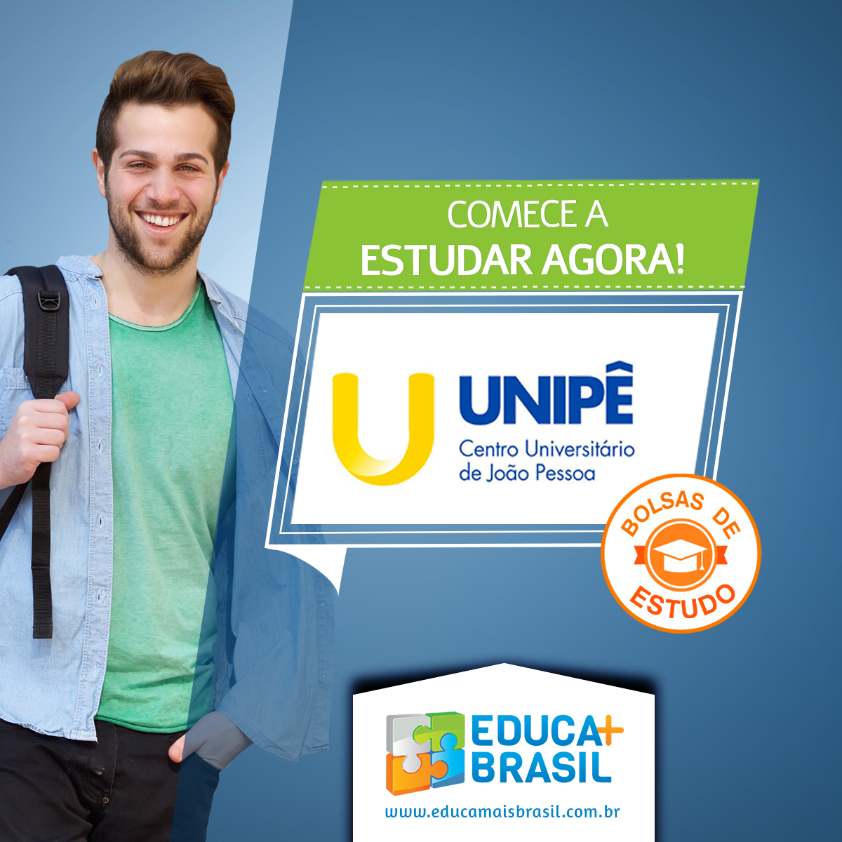 Bolsas de Estudo - Unipê