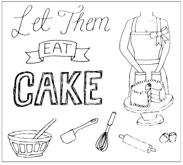 Baking sketch