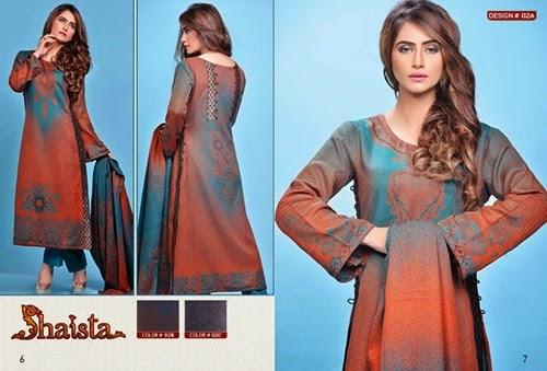 Shaista Cut Works Collection 2014