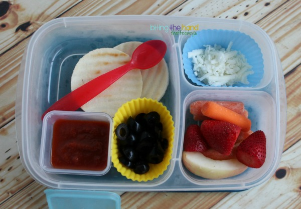 Simple DIY Pizzable Lunch