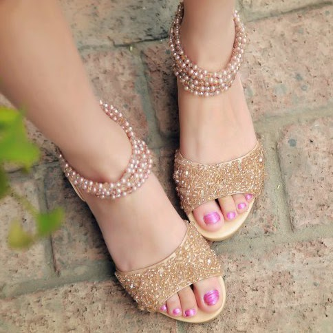 Stylish, Latest, 2015, 2016, Flat Sandals.