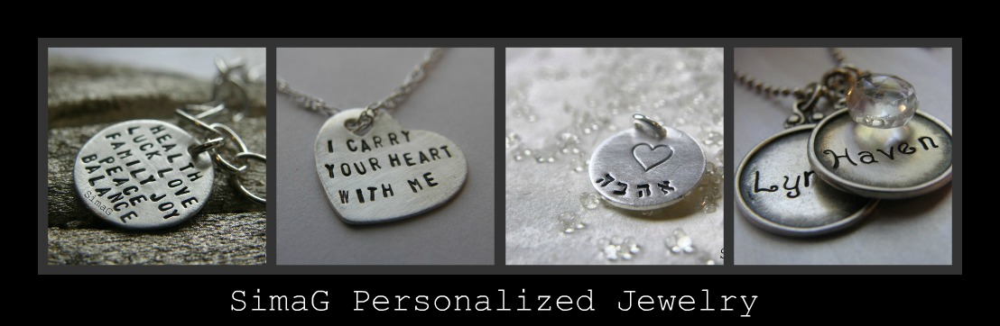 ♥ SimaG Personalized Jewelry ♥