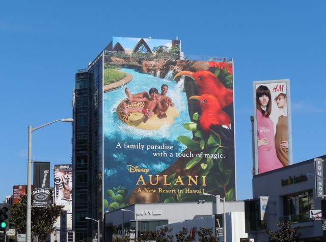 Disney Aulani Hawaii billboard