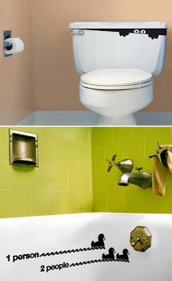adesivos de banheiro no acento