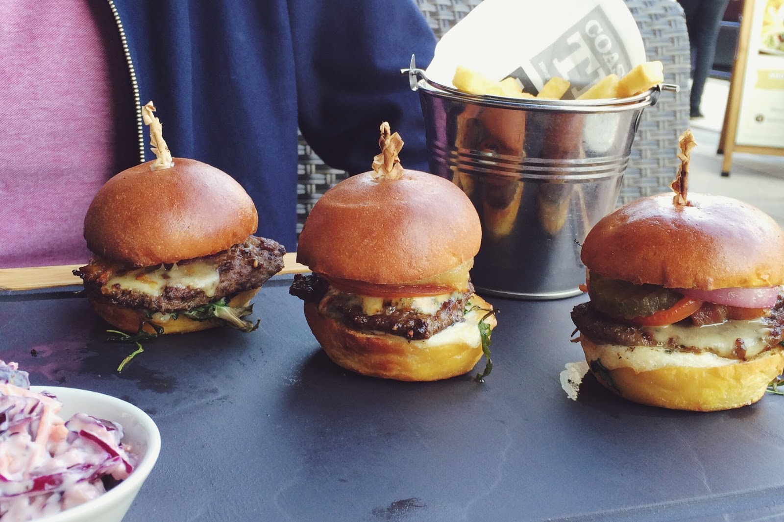 If you find yourself in Portsmouth and suddenly fancy some amazing American style food, then visit Coast to Coast: from blue cheese burgers to spicy chicken wings, you won't be disappointed.