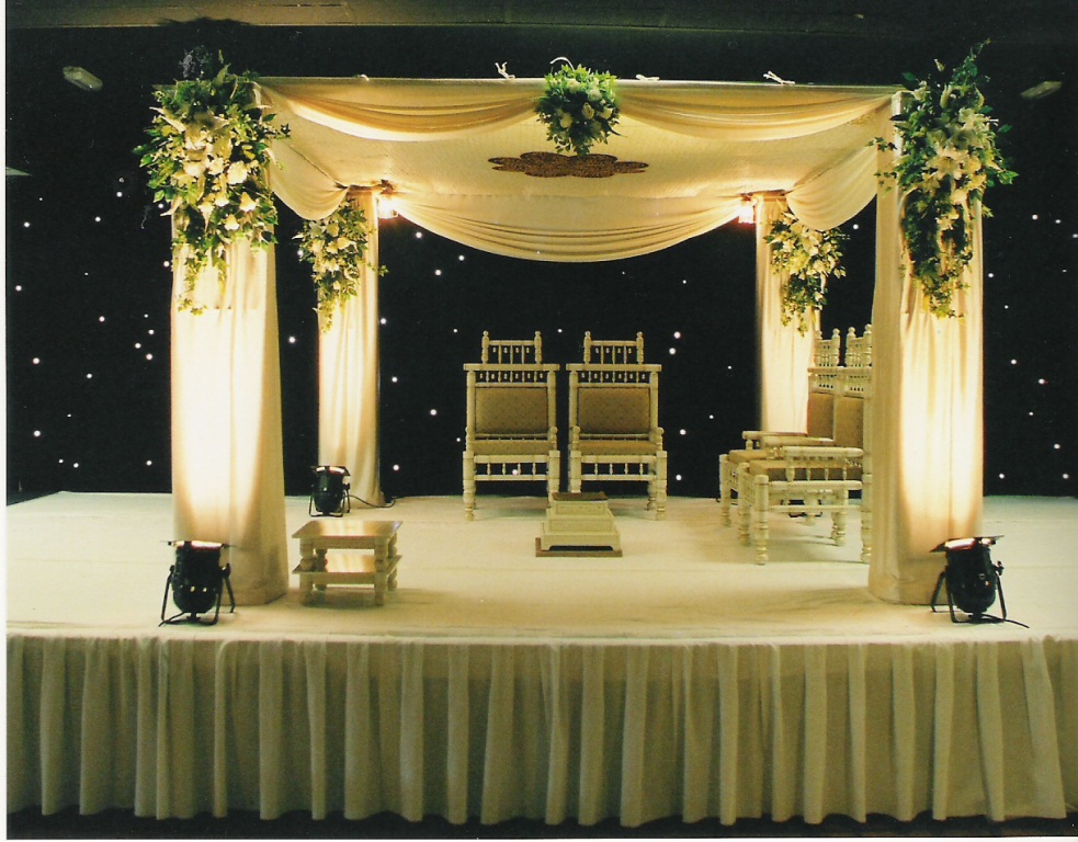 Sonal j shah event consultants llc importance of stage for Different types of wedding decorations