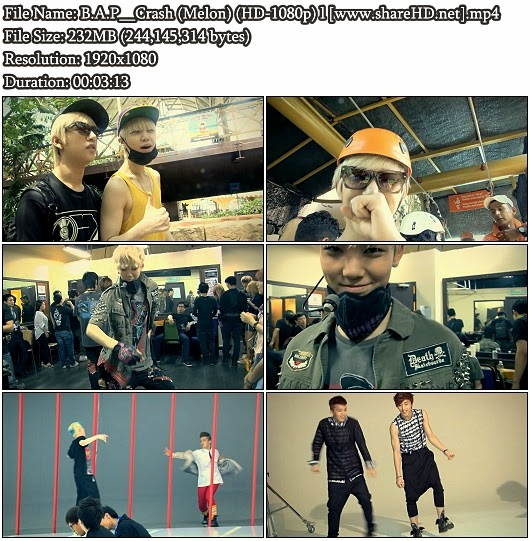 Download MV B.A.P - Crash (Melon Full HD 1080p)