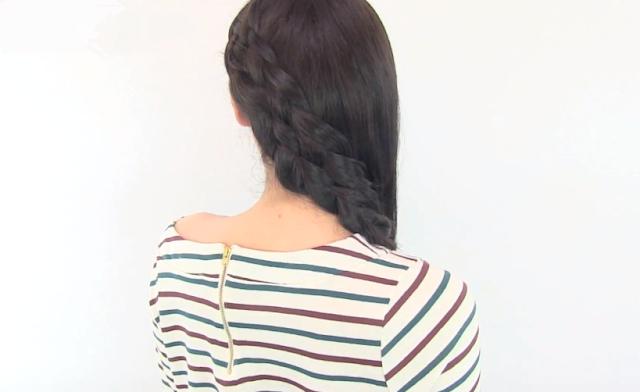 Peinados Con Trenzas De 5 Gajos - Cómo hacer una trenza de 5 cabos paso a paso Tip Guía