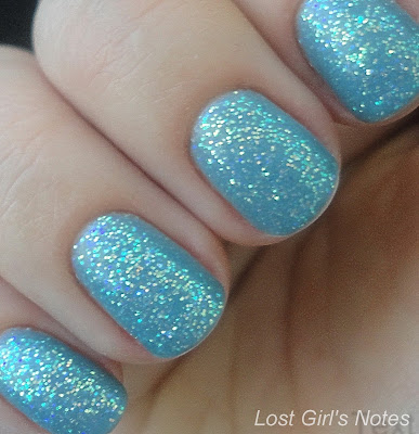 kleancolor Emerald Sparkle swatches and review