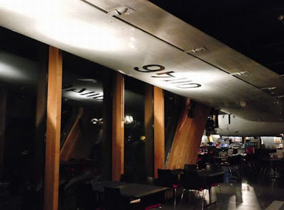 A Vintage Airplane-Turned-Restaurant at in Zurich Airport Seen On www.coolpicturegallery.us