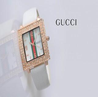 jam tangan keren GUCCI 2043 WHITE