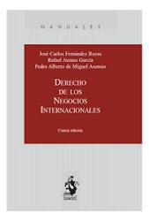 Derecho de los negocios internacionales 4ª ed.