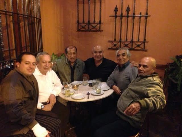 Fotos de la reunión en el Bolivariano el jueves 22 con nuestro gran compañero Víctor Menacho