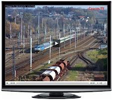 Webcam de l'estació de Chocen. Txèquia.