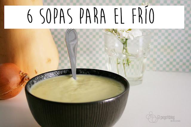 6 recetas de sopas para el frío