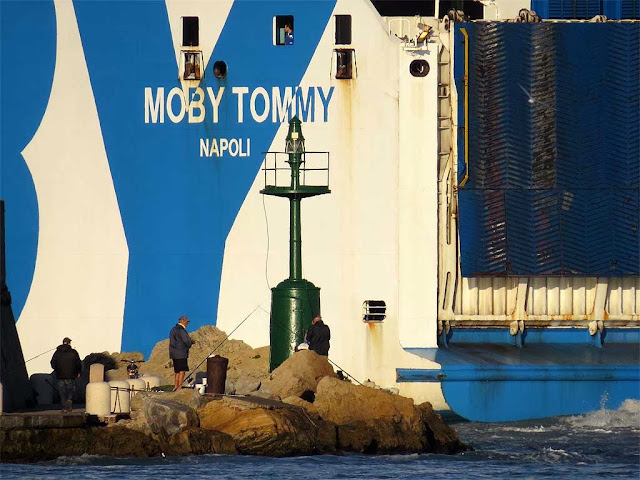Moby Tommy ferry, IMO 92213110, port of Livorno