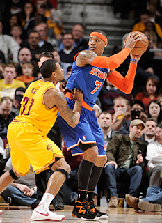 Cleveland Cavaliers fall to the Knicks