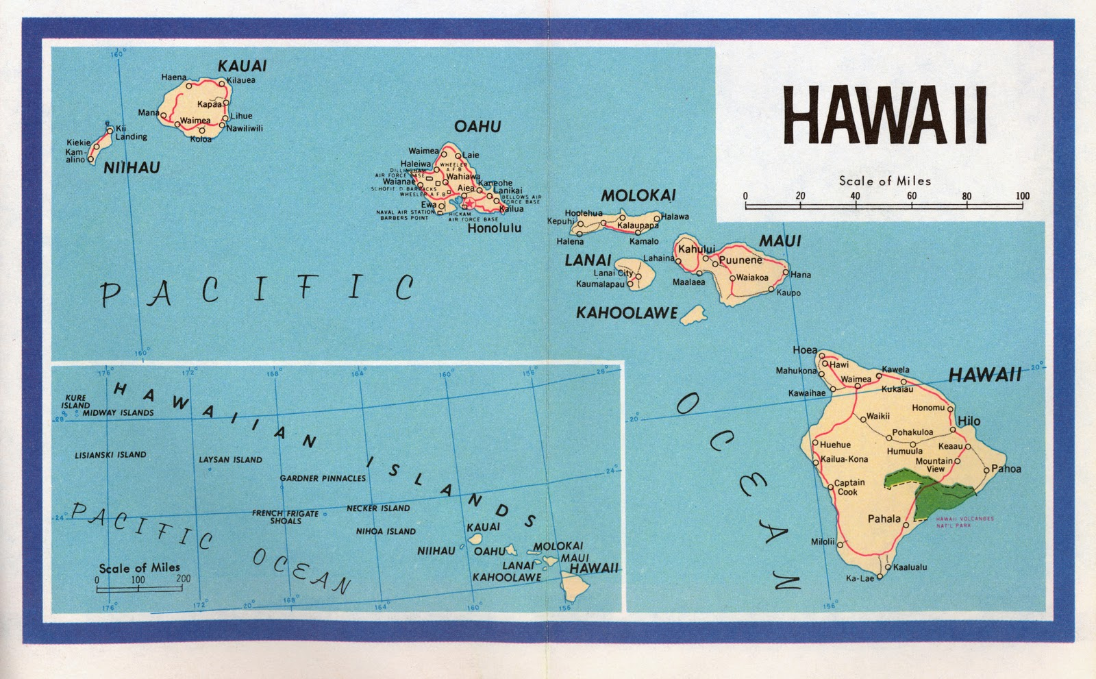 Hawaii Map Map Picture