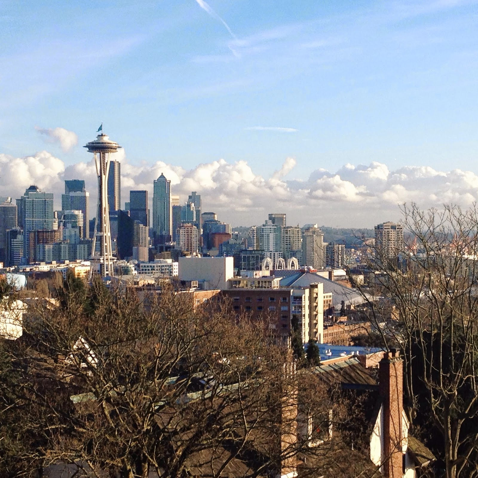 View of Seattle at Kerry Park