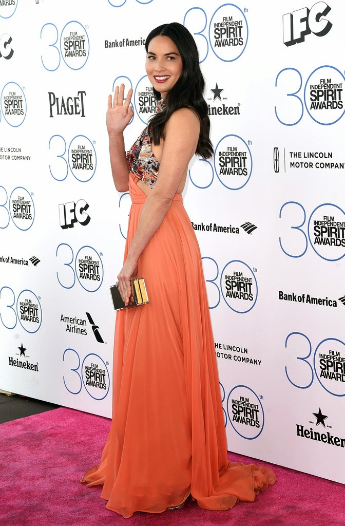 Actress: Olivia Munn - 2015 Film Independent Spirit Awards in Santa Monica