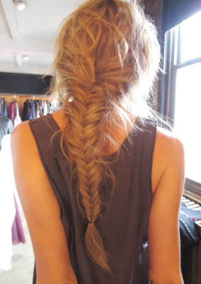 love hairstyle trend messy