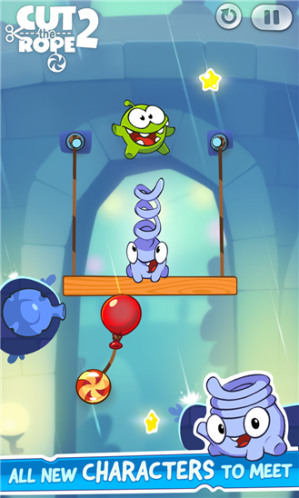 cut the rope 2 screenshot on windows phone