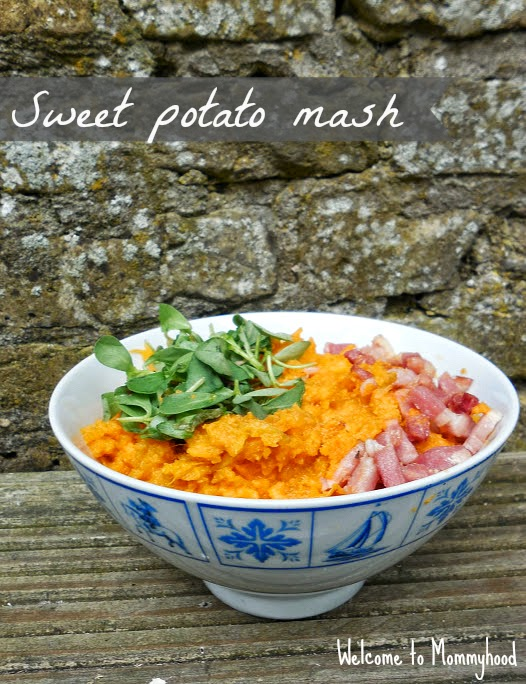 Mashed sweet potatoes by Welcome to Mommyhood