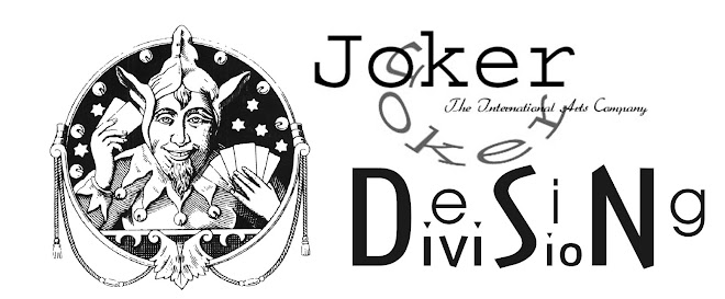 Diseñado por The International Joker Co. (Desing Division).