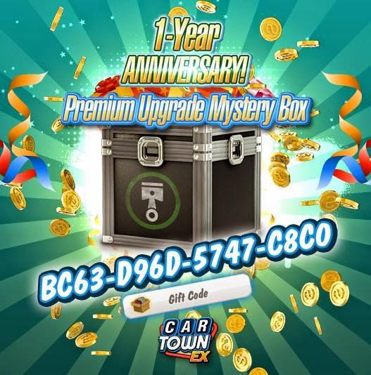Car Town: Car Town EX Free Gift caja misteriosa