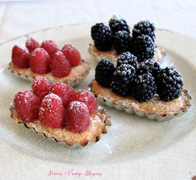 Fresh Fruit Frangipane Tart