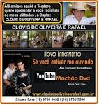 Clóvis de Oliveira & Rafael no Programa Amigos do Teodoro & Sampaio
