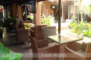 Cafe Mania Gò vấp cà phê sân vườn 1
