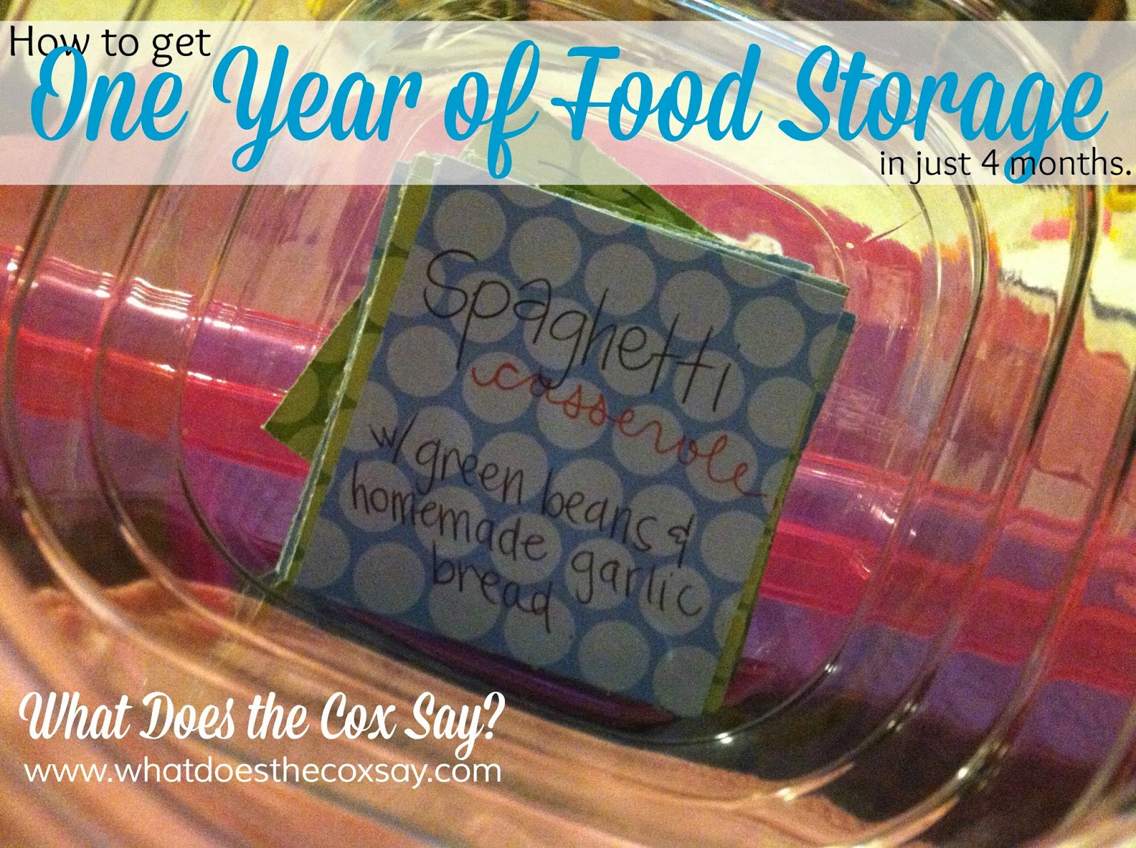 #foodstorage #whatdoesthecoxsay