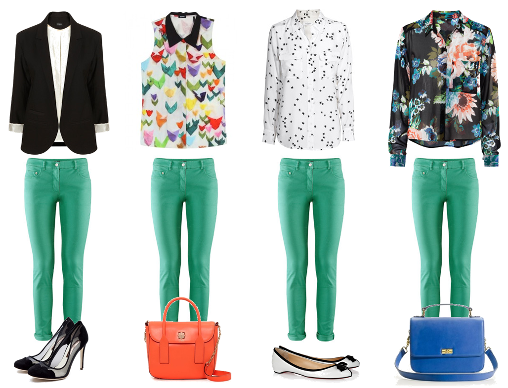 Partymixtape how to wear coloured pants for What color shirt goes with green pants