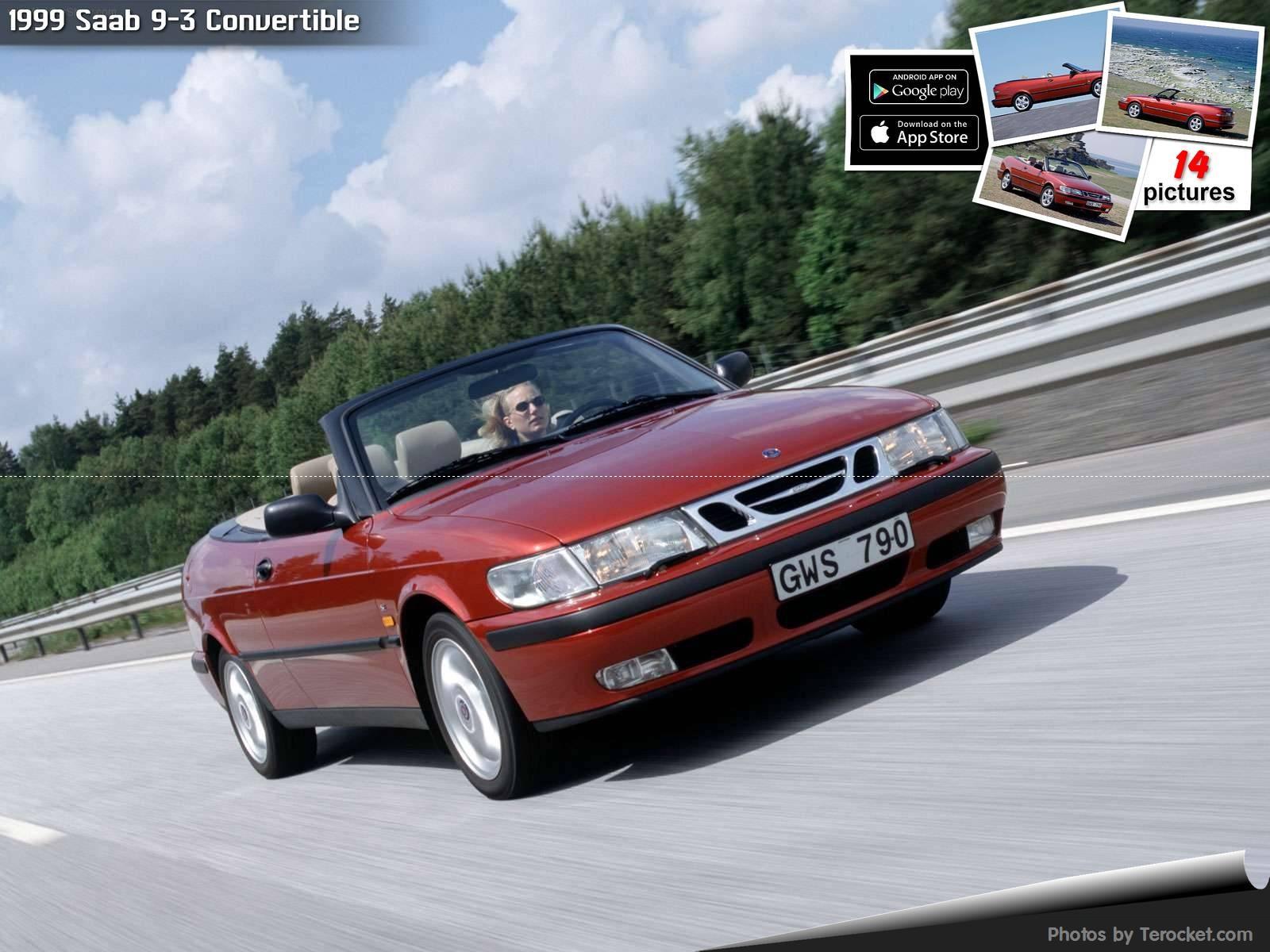 Hình ảnh xe ô tô Saab 9-3 Convertible 1999 & nội ngoại thất