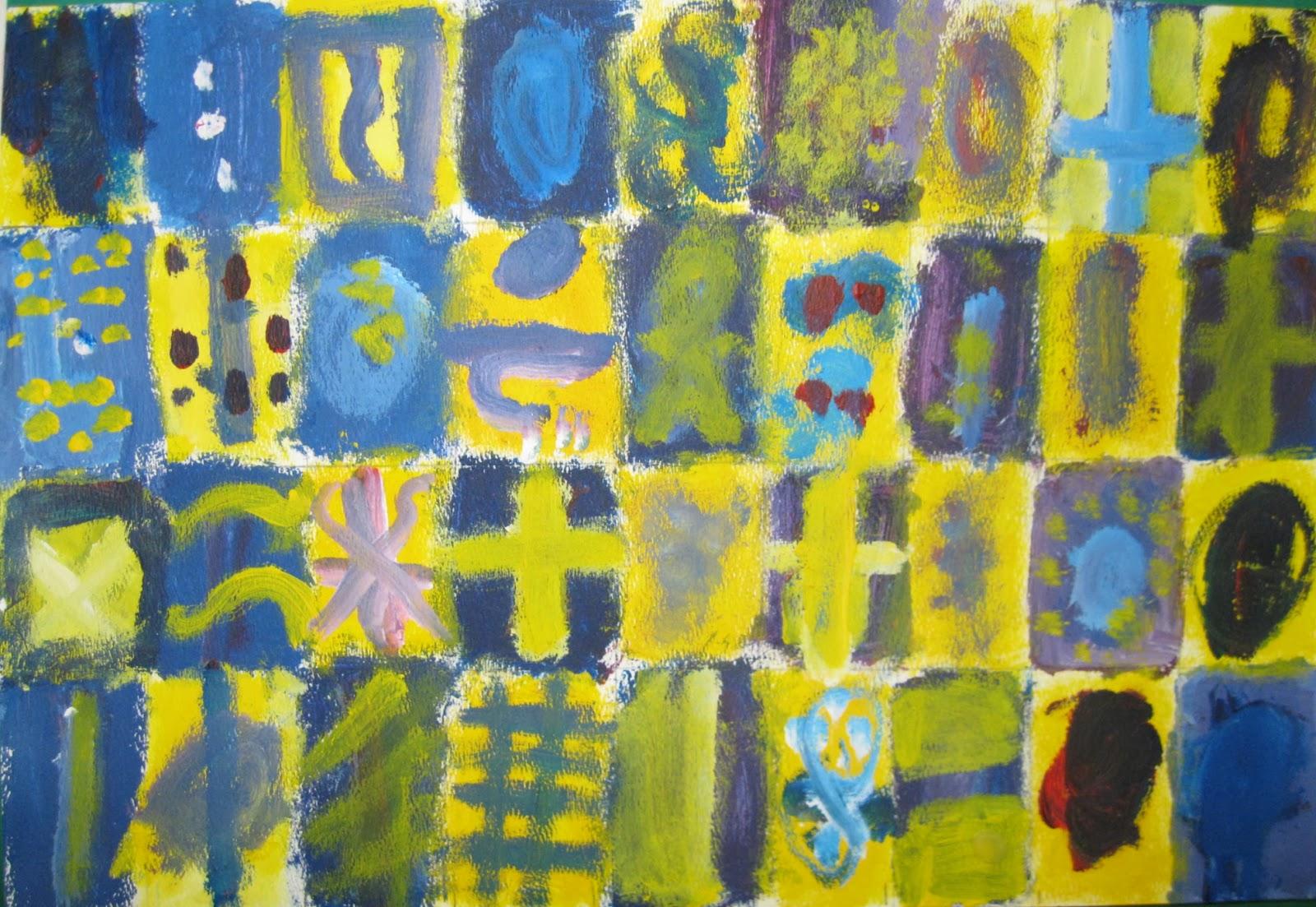Mrs. Love\'s Art Class: More COLOR art + TEXTURE