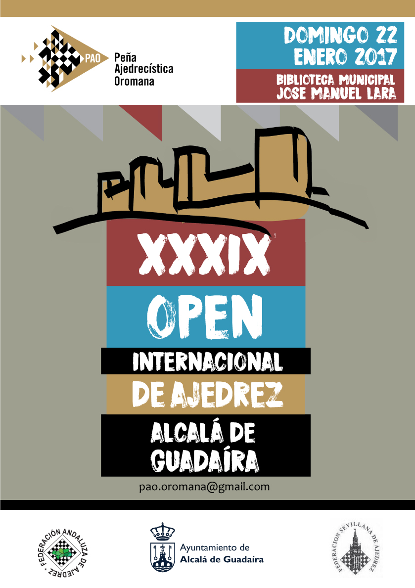 XXXIX OPEN DE ALCALÁ 2017