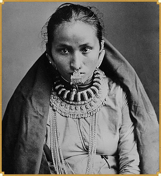 Nepali women 1890