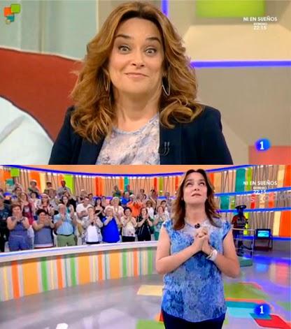 TVE prescinde de 'Entre todos' pero mantiene a Toñi Moreno
