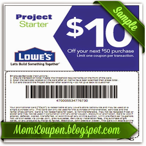 Great Deals Using Free Printable Lowes Coupons | Free Printable