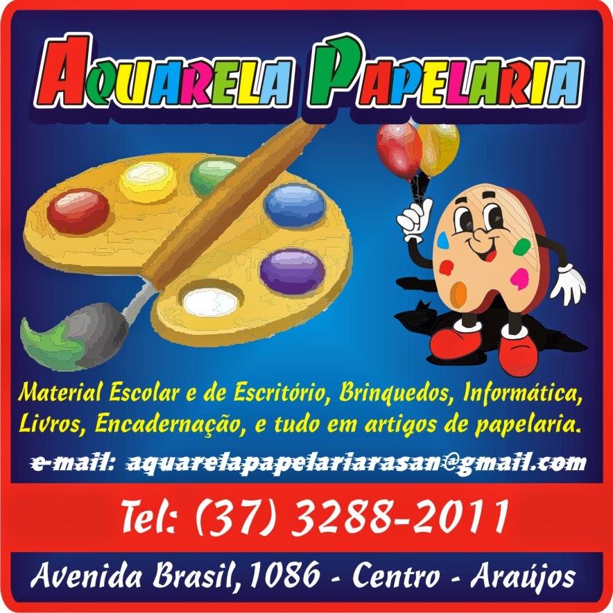 Aquarela Papelaria em Araújos - Minas Gerais