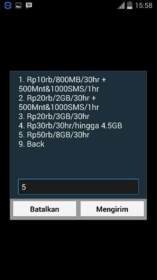 Cara Daftar Paket Promo Simpati 8Gb Rp.50 Ribu Di *550*790#