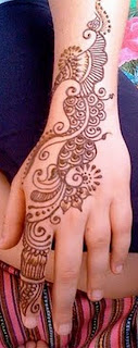 best mehndi design bell 2013