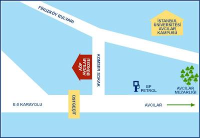 İstanbul Avcılar AÖF Büro Telefon Numarası ve Adresi