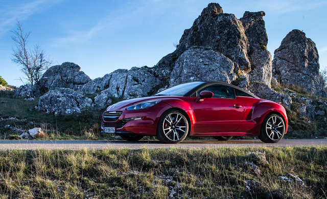 2014 Peugeot RCZ R side red