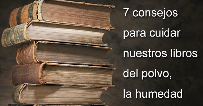 Los mil libros 7 consejos para cuidar tus libros del - Soluciones para mosquitas de la humedad ...