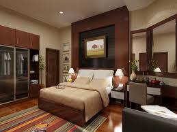 habitación matrimonial marrón beige